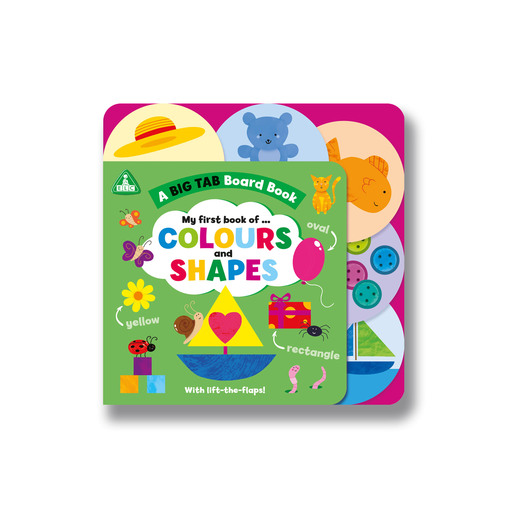 ELC: Big Tab World: Shapes and Colours