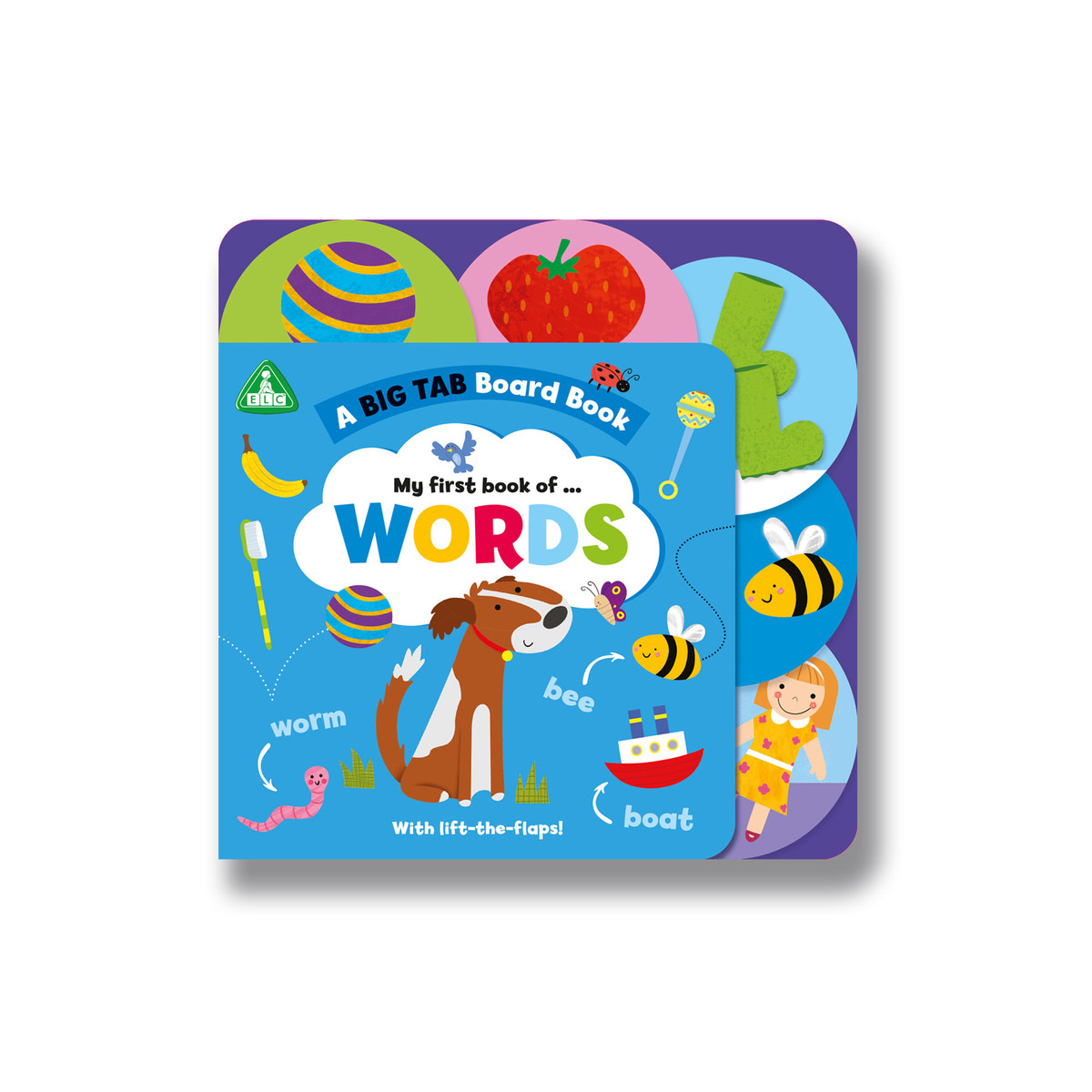 Early Learning Centre Big Tab World Book: Words