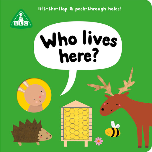 Early Learning Centre Peep Through Book: Who Lives Here?