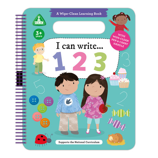 Early Learning Centre I Can Write 123 Wipe Clean Book