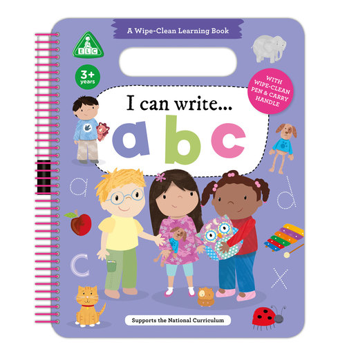 Early Learning Centre I Can Write ABC Wipe Clean Book