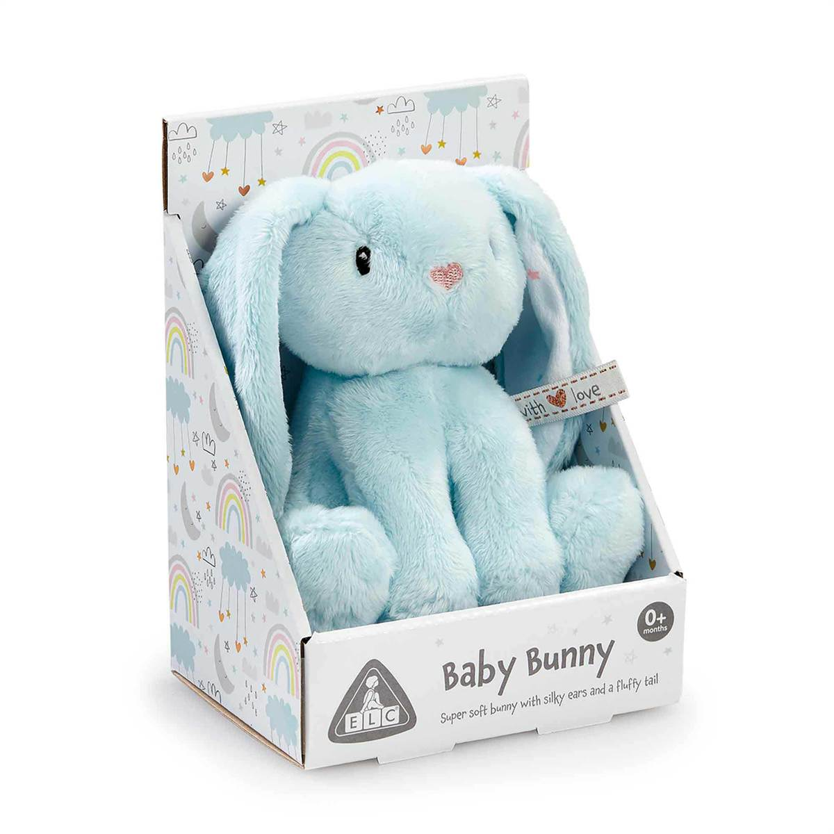 Early Learning Centre Blue Baby Bunny