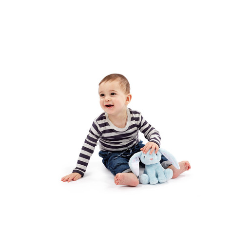 Early Learning Centre Plush Toy - Blue Baby Bunny