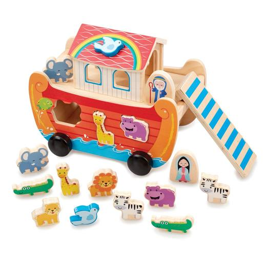 Early Learning Centre Wooden Noah's Ark Shape Sorter