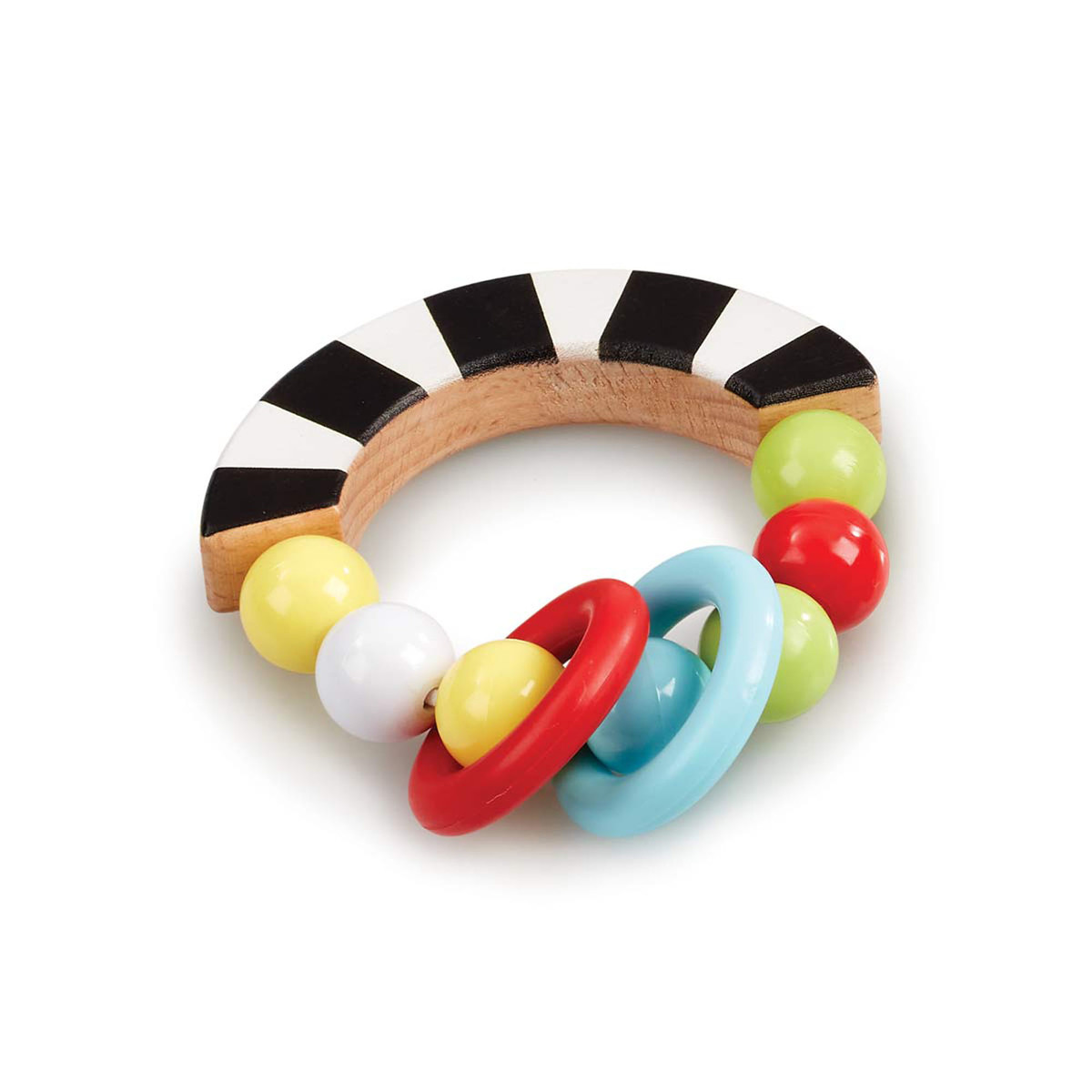 Early Learning Centre Wooden Bead Rattle
