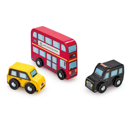 Early Learning Centre Wooden London Vehicles