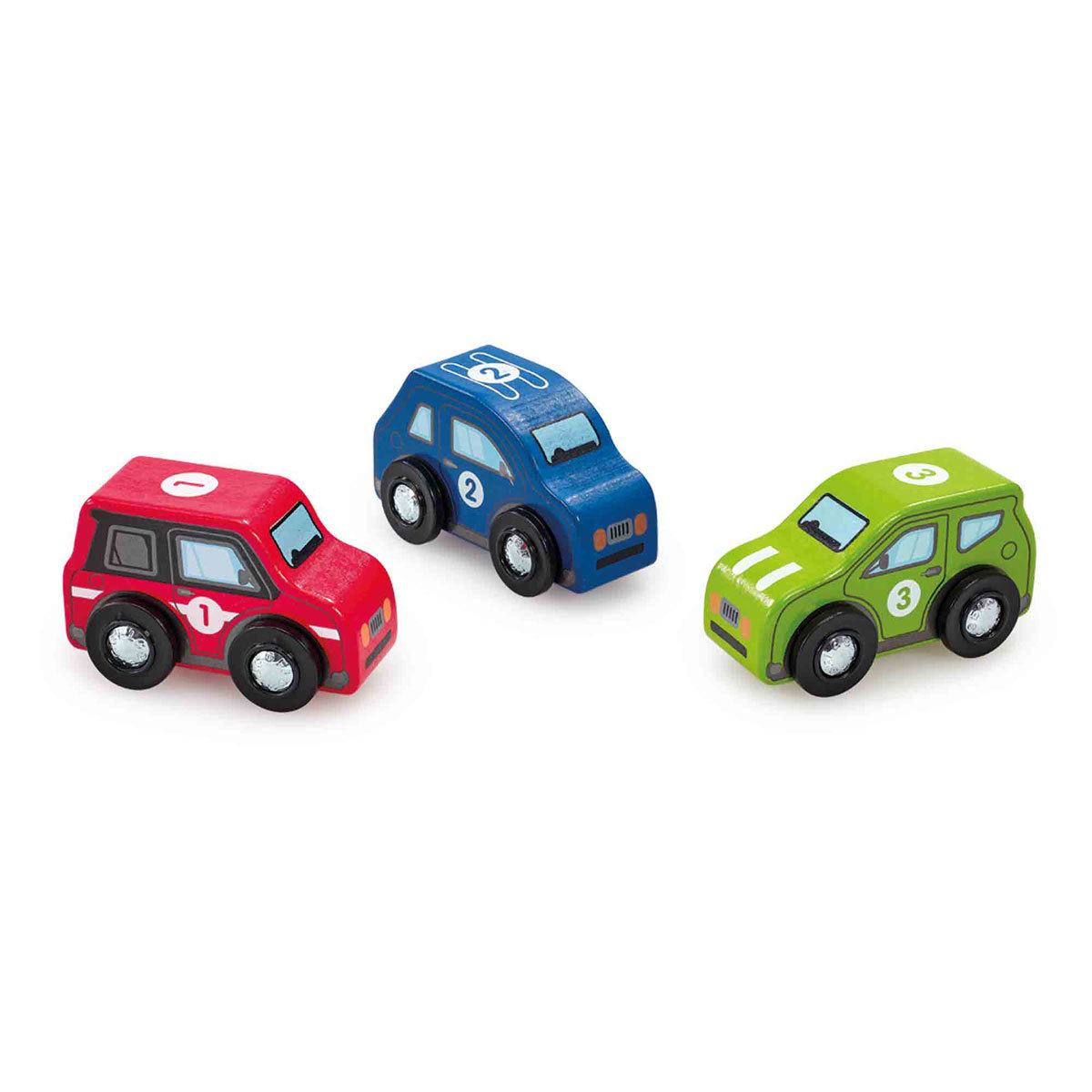 Early Learning Centre Wooden Racing Cars