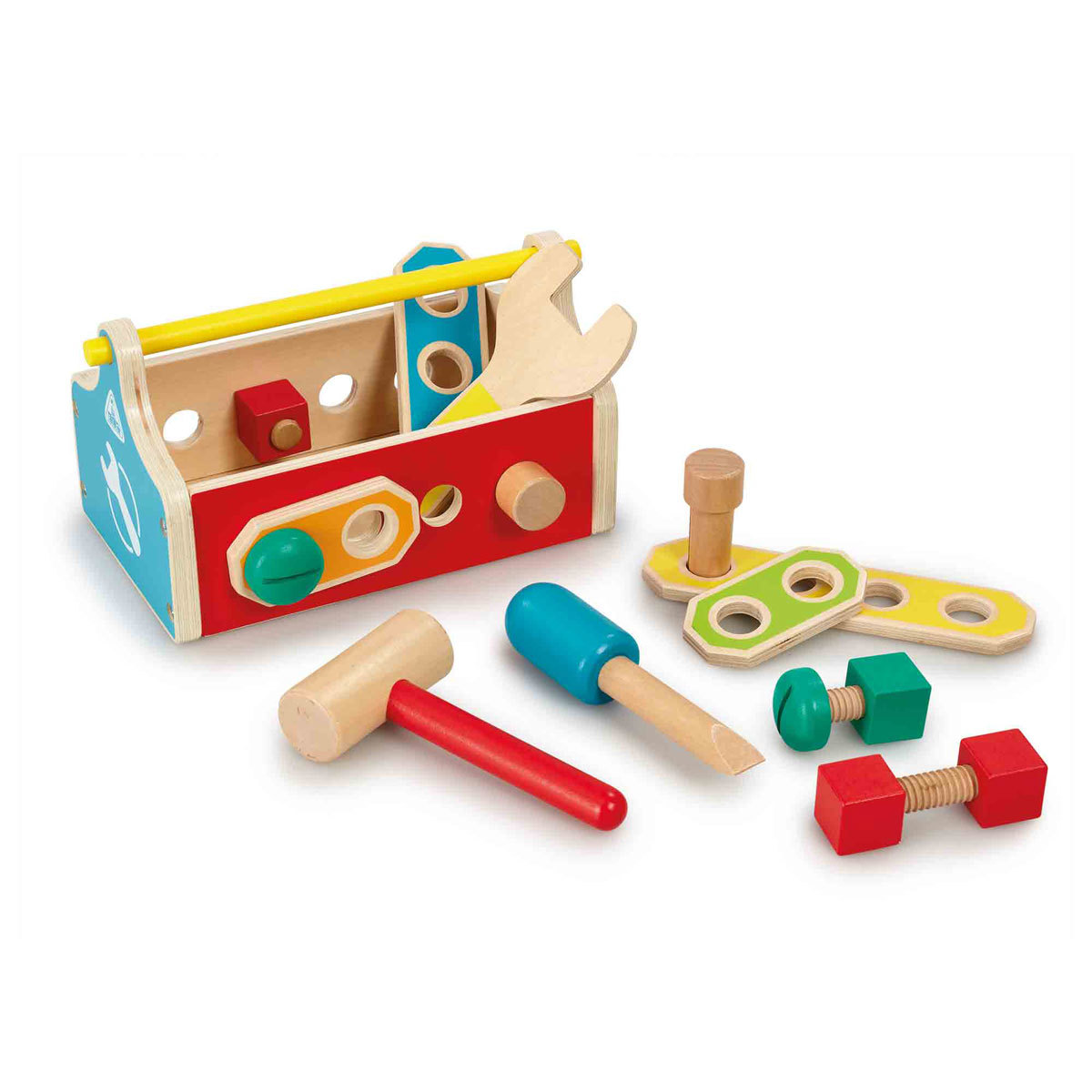 Early Learning Centre My Little Wooden Toolbox Playset