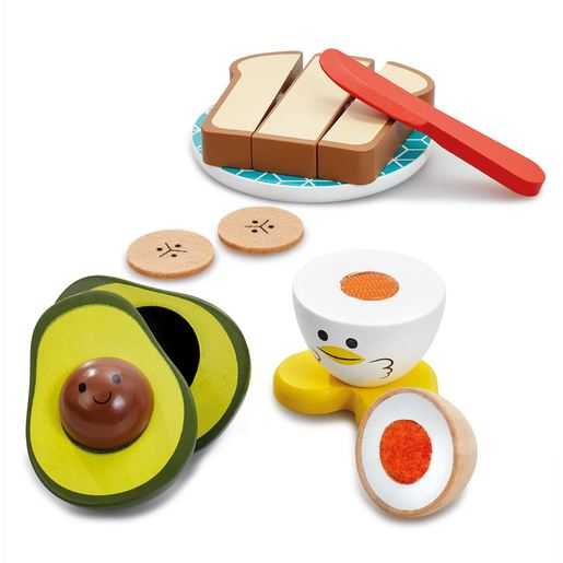 Early Learning Centre Wooden Breakfast Playset