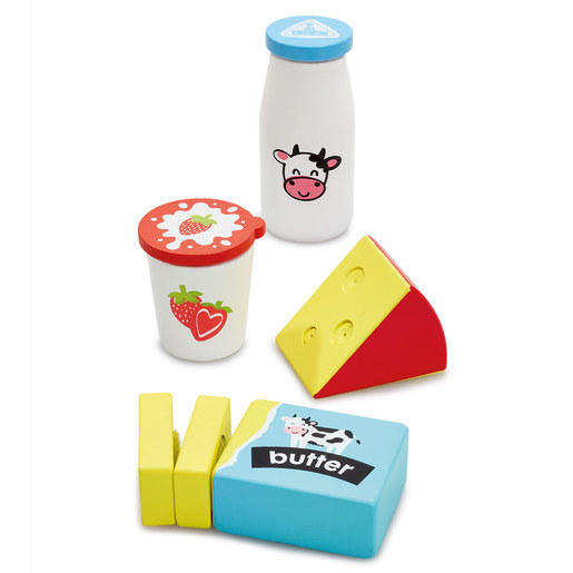 Early Learning Centre Wooden Dairy Set