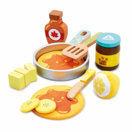 Early Learning Centre Wooden Pancake Playset