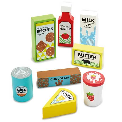 Early Learning Centre Wooden Food Shopping Set