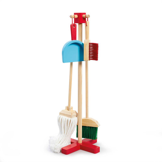 Early Learning Centre Wooden Deluxe Cleaning Playset