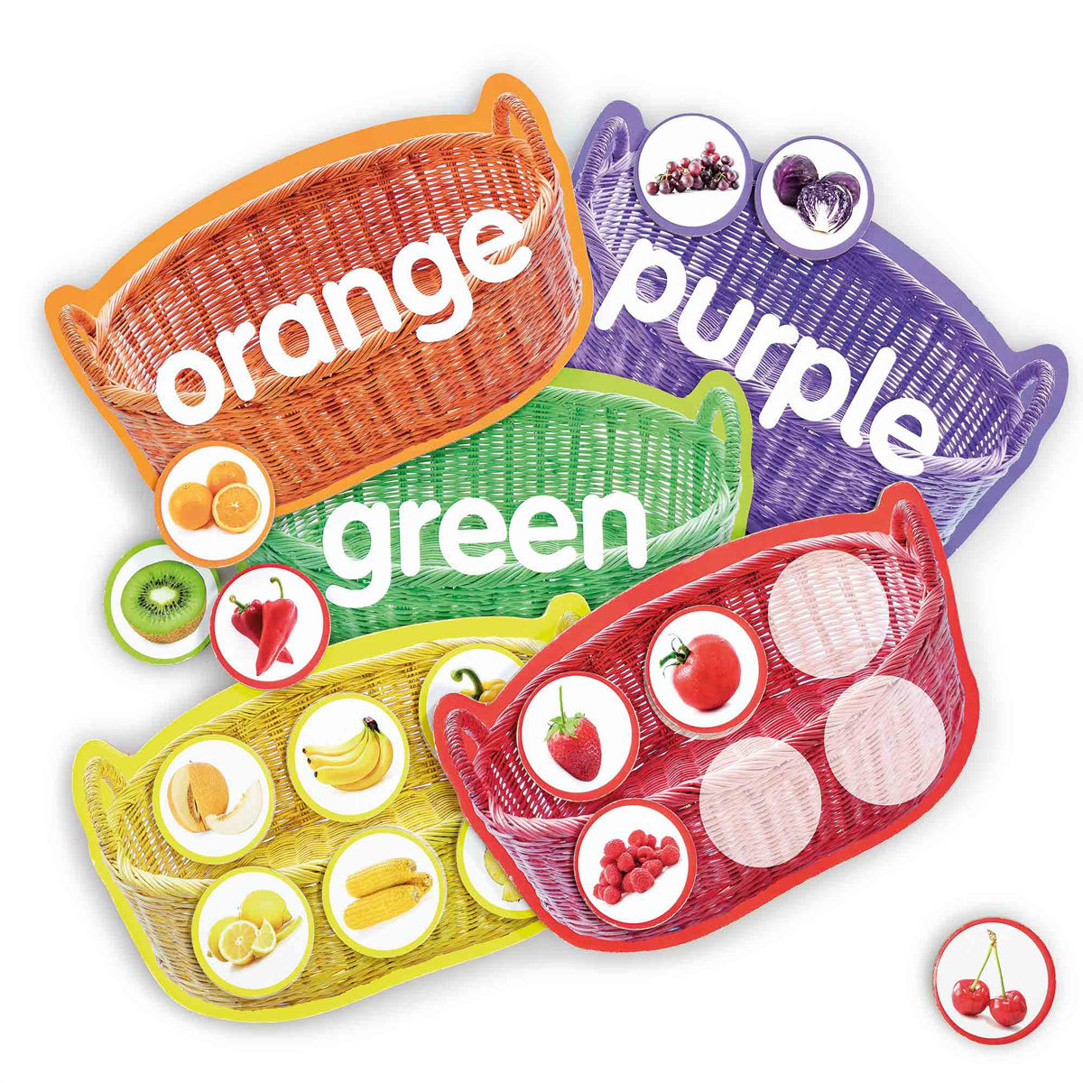 Early Learning Centre Fruit and Veg Colour Match