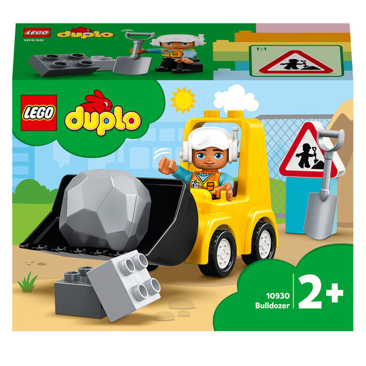 LEGO Duplo Bulldozer Construction Vehicle Set - 10930