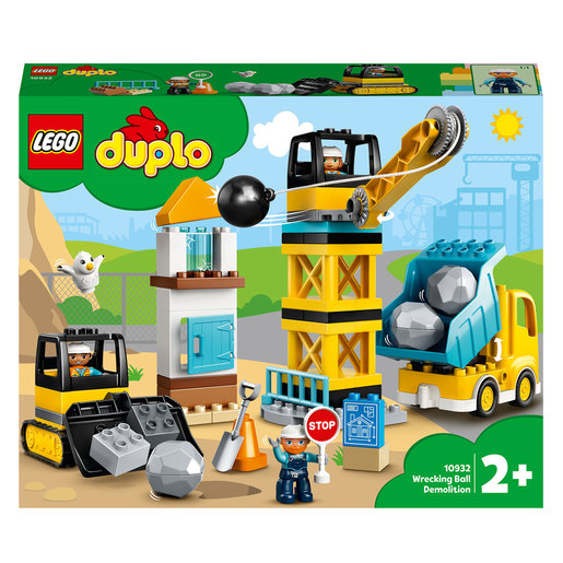 LEGO Duplo Wrecking Ball Demolition Construction Set - 10932