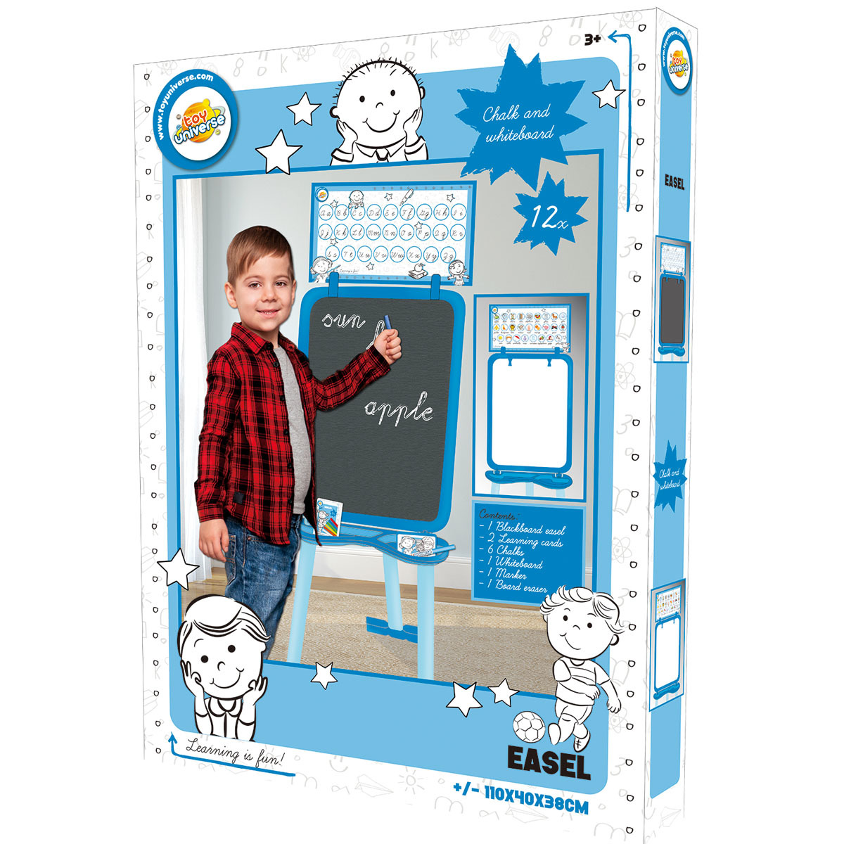 Toy Universe Easel - Blue from Early Learning Center