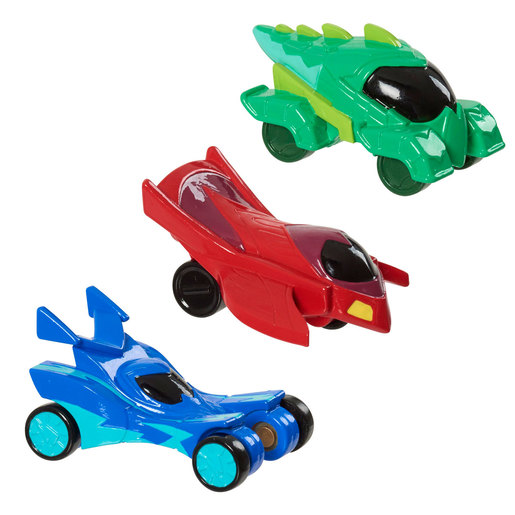 PJ Masks Hero Vehicles 3 Pack