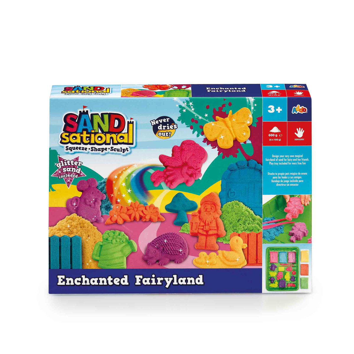 Sandsational Enchanted Fairyland Playset