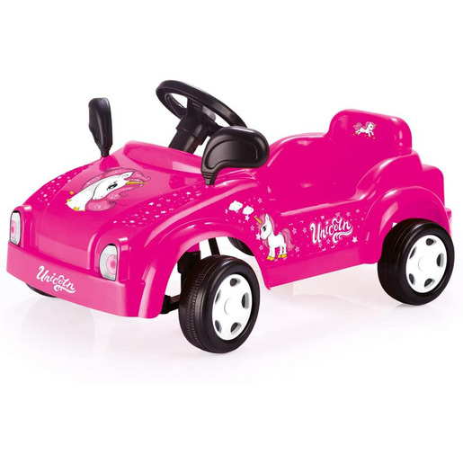 Dolu Pedal Unicorn Smart Car Ride-On - Pink