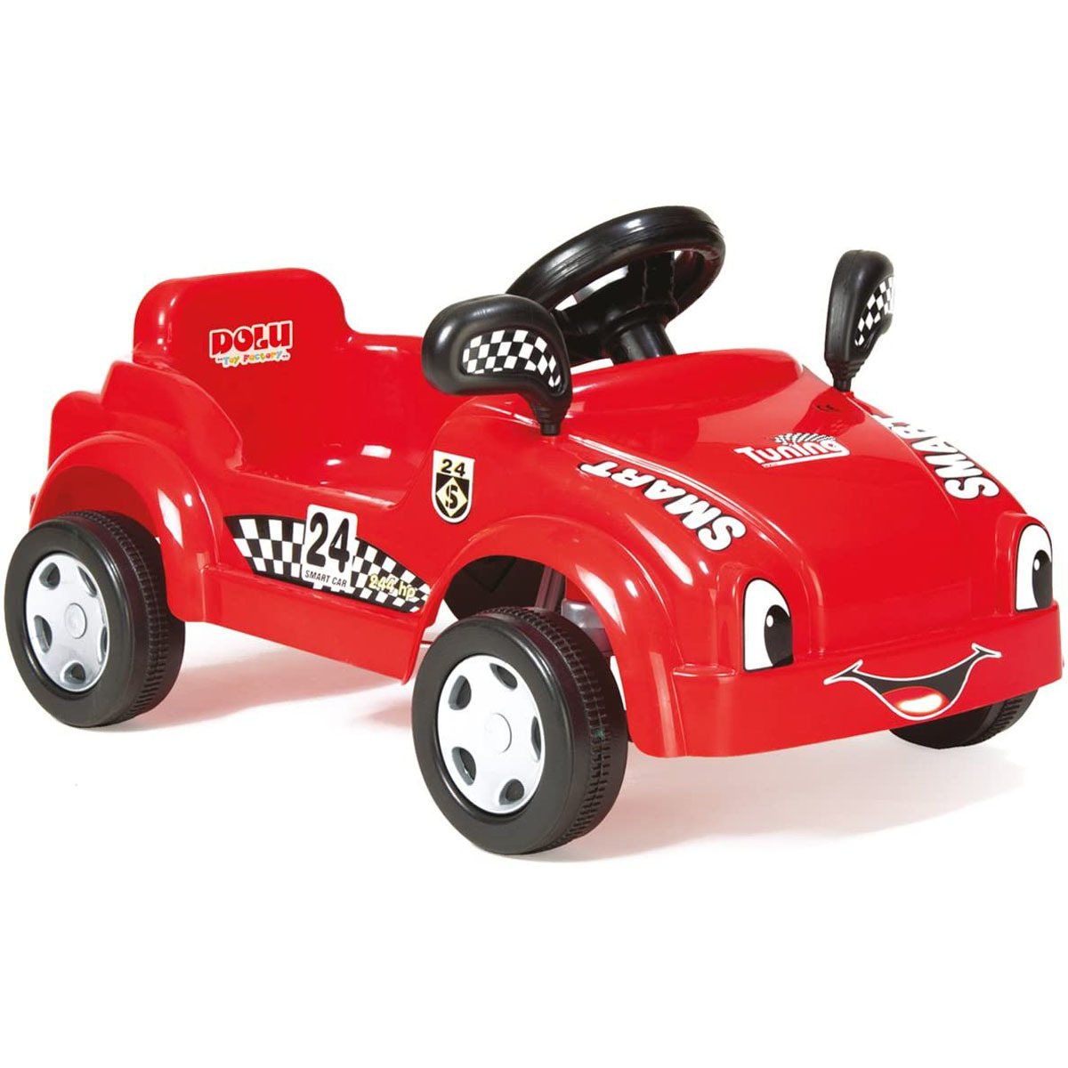 Dolu Pedal Powered Red Race Car With Working Horn