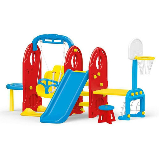 Dolu 7-in1 Indoor & Outdoor Playground Frame (H124cm)