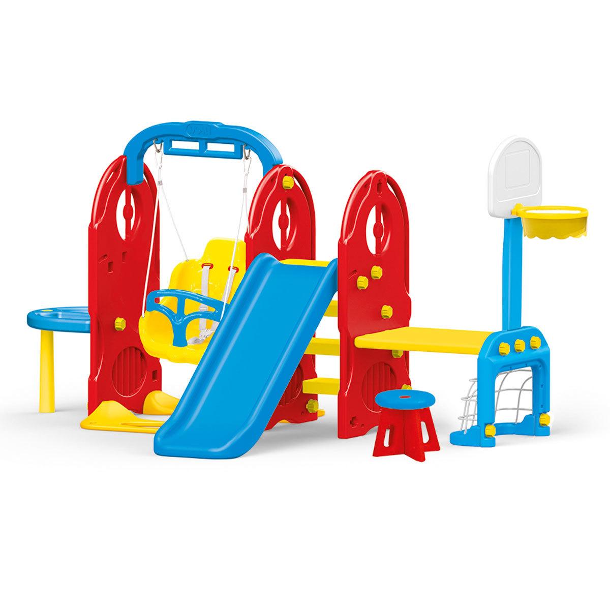 Dolu 7-in1 Indoor & Outdoor Playground Frame (H124cm)