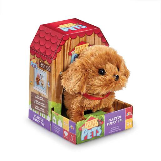 Pitter Patter Pet Playful Puppy Pal - Brown