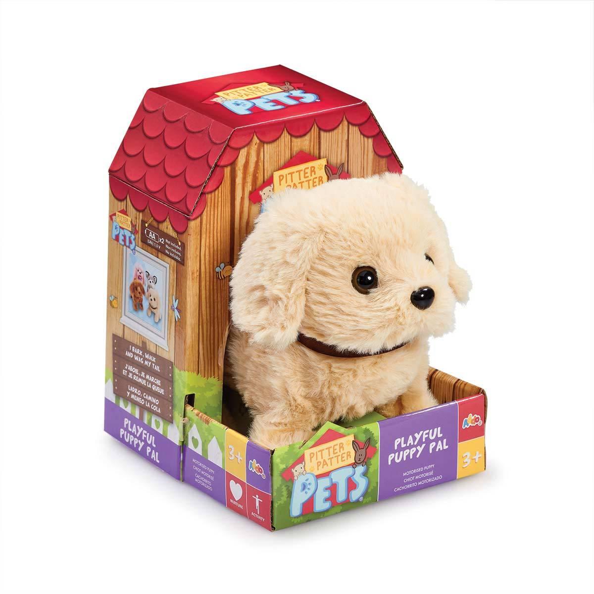 Pitter Patter Pet Playful Puppy Pal Soft Toy - Golden Lab