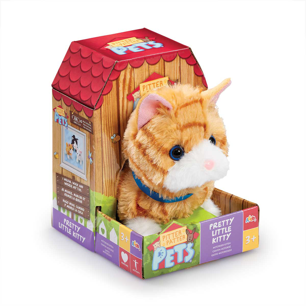 Pitter Patter Pets Pretty Little Kitty - Ginger