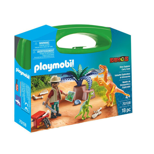 Playmobil 70108 Dinosaur Explorer Carry Case