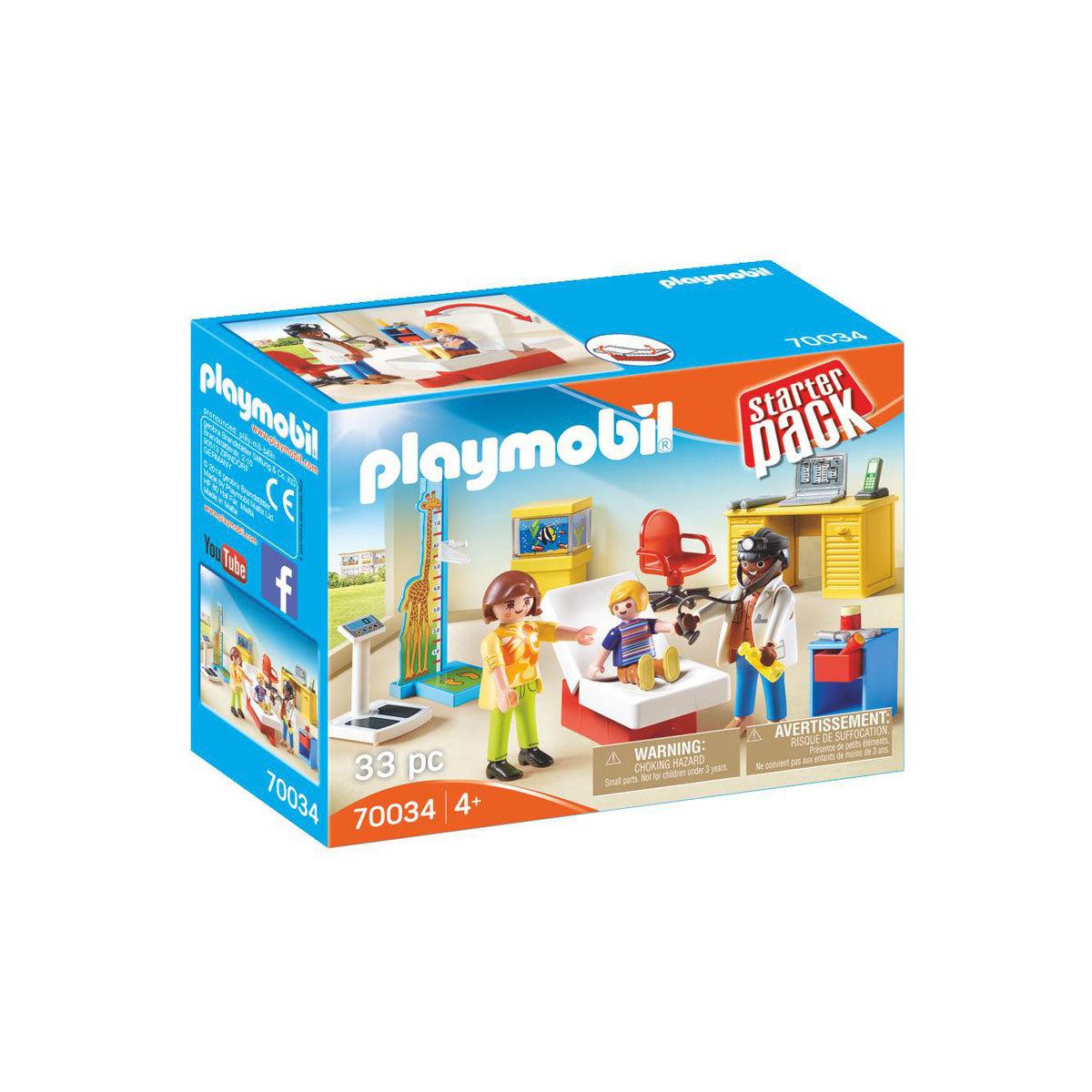 Playmobil 70034 City Life Children's Doctor Starter Pack from Early Learning Center