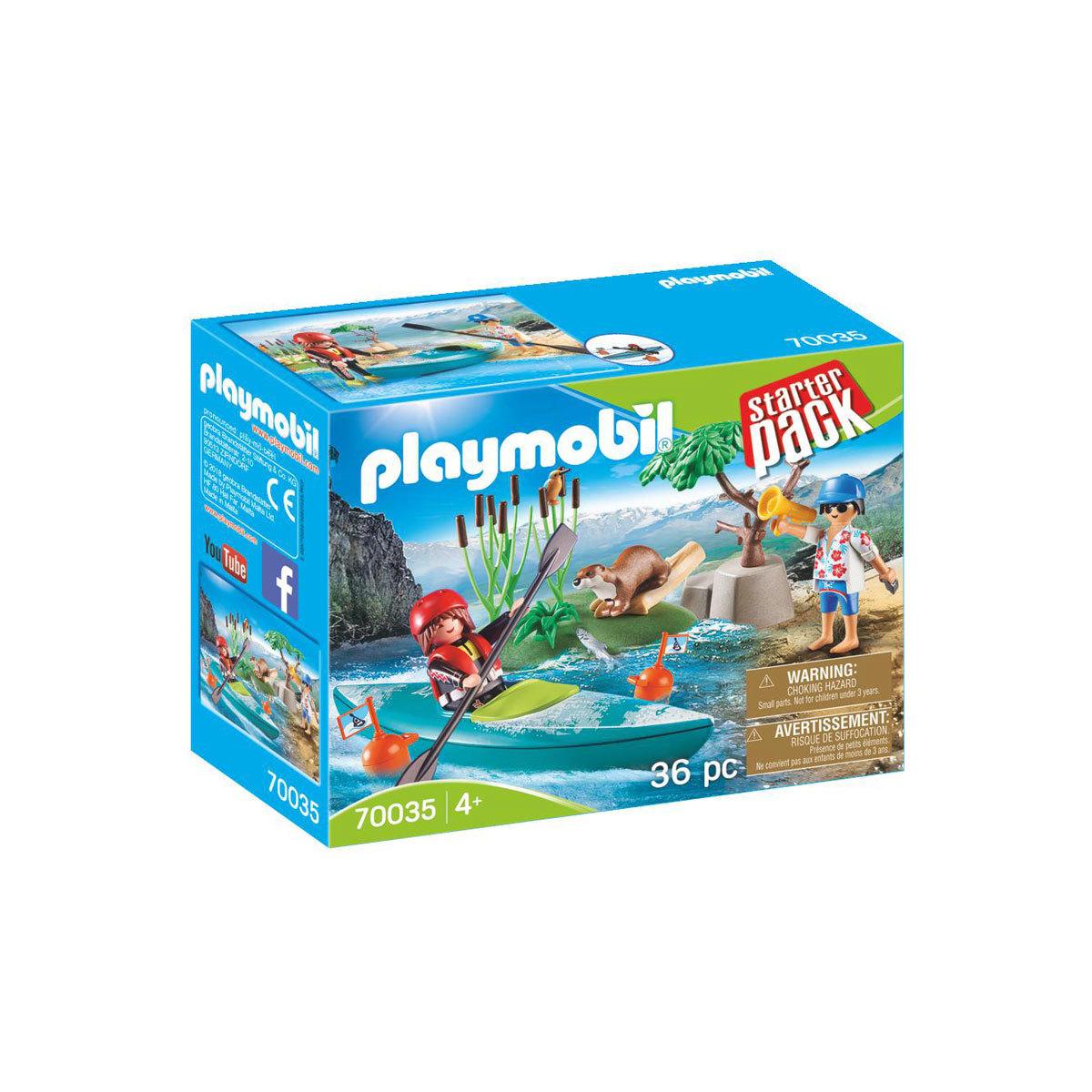 Playmobil 70035 Kayak Adventure Starter Pack from Early Learning Center