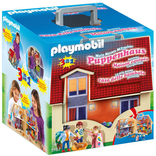 Playmobil 5167 Take Along Modern Dolls House