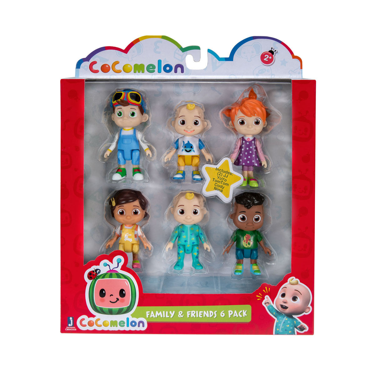 CoComelon 6 Figure pack