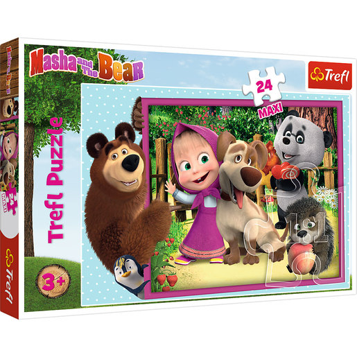 Trefl Masha And The Bear Maxi Puzzle - 24pcs.