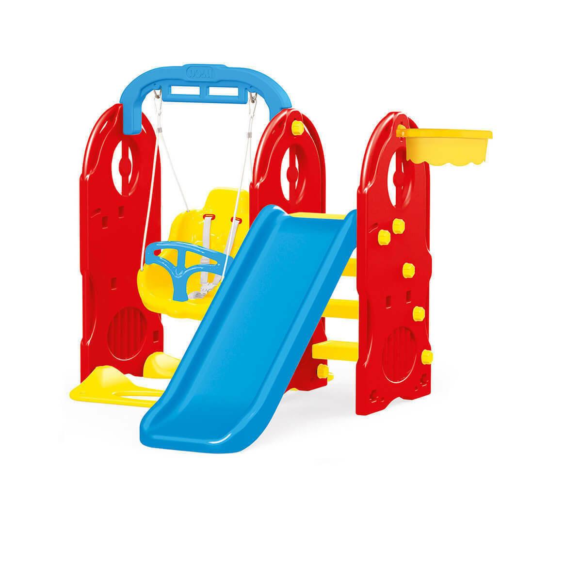 Dolu 4-in1 Indoor & Outdoor Playground Frame (H124cm)