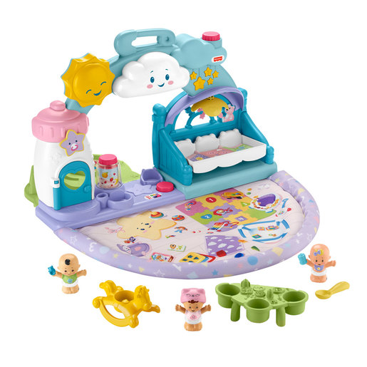 Fisher-Price Little People 1-2-3 Babies Playdate Set