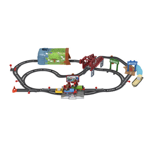 Thomas & Friends Talking Thomas & Percy Trainset