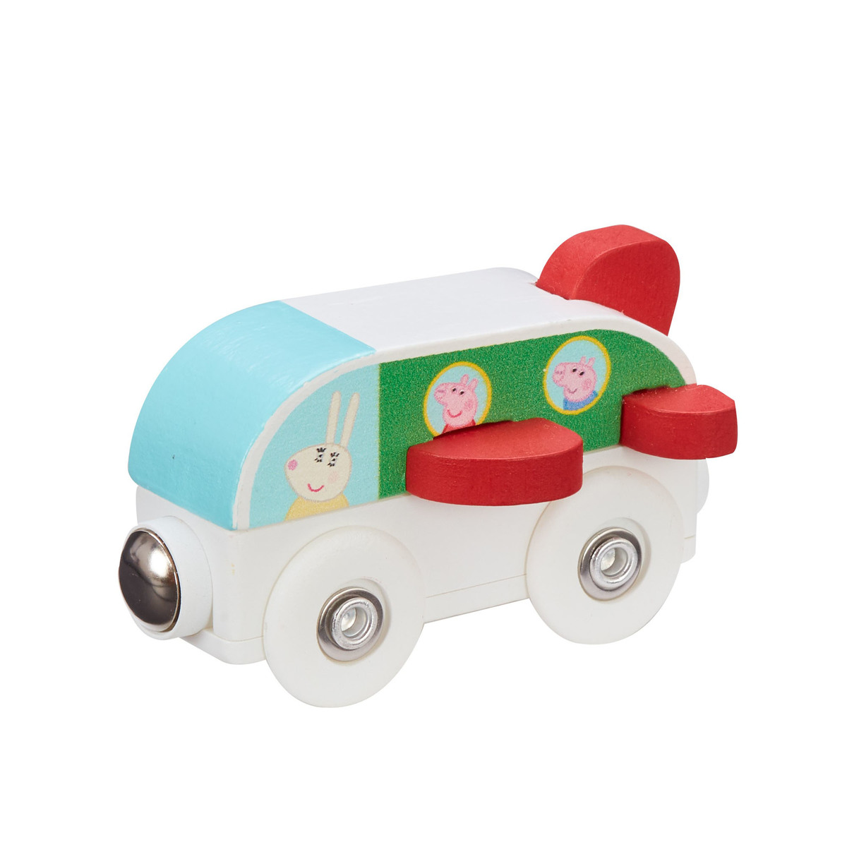 Peppa Pig Wooden Mini Vehicles - Plane from Early Learning Center