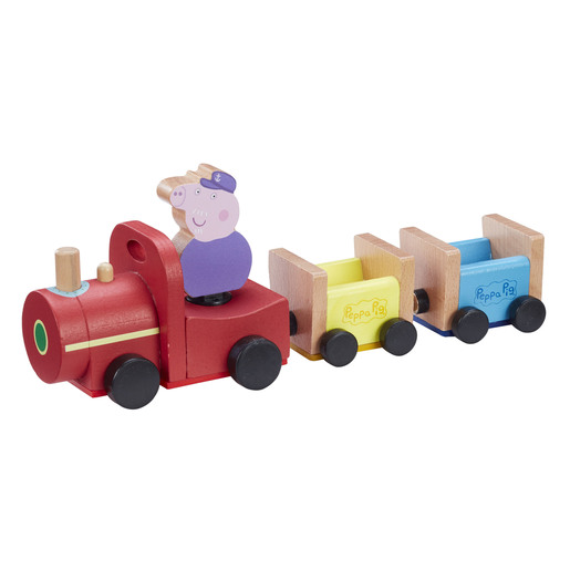 Peppa Pig Wooden Grandpa's Train