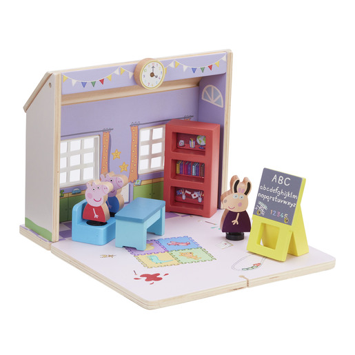 Peppa Pig Wooden Schoolhouse