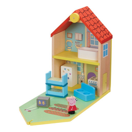Peppa Pig Wooden Family Home Playset