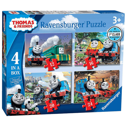 Ravensburger 4 in a Box Puzzles - Thomas and Friends
