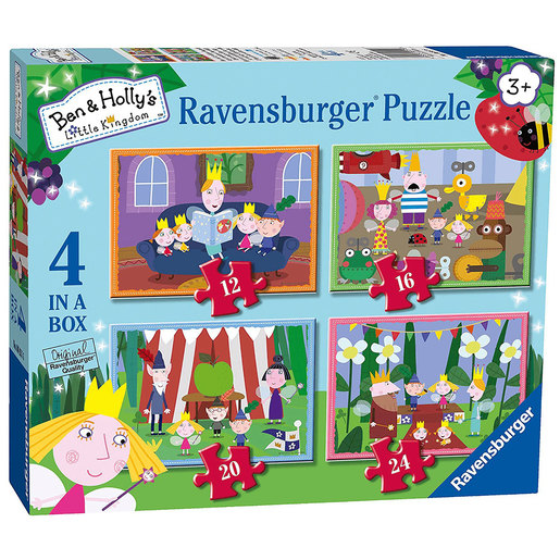 Ravensburger 4 in a Box Puzzles - Ben & Holly