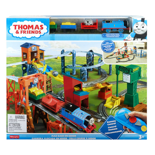 Fisher-Price Thomas & Friends Trackmaster - Mad Dash on Sodor Train Set