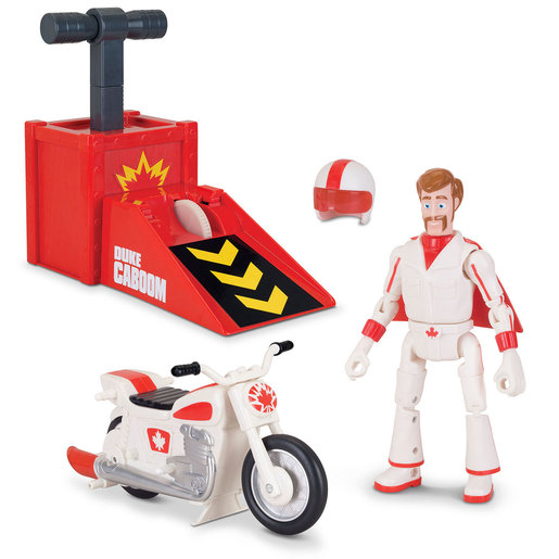 Disney Pixar Toy Story 4 Collection Duke Caboom Stunt Set