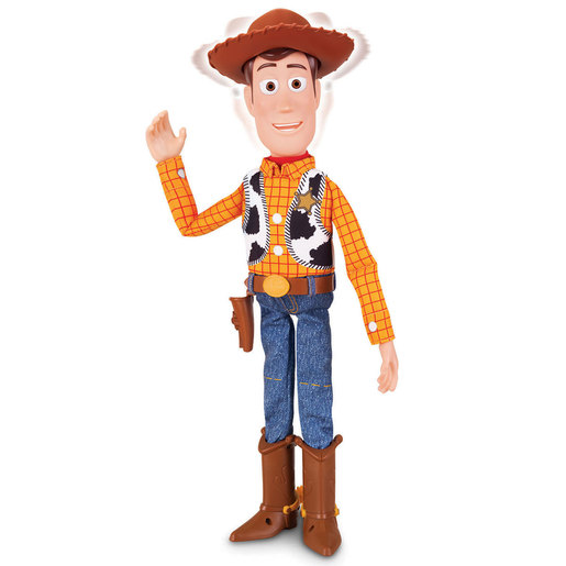Disney Pixar Toy Story Collection Interactive Figure - Woody The Sheriff