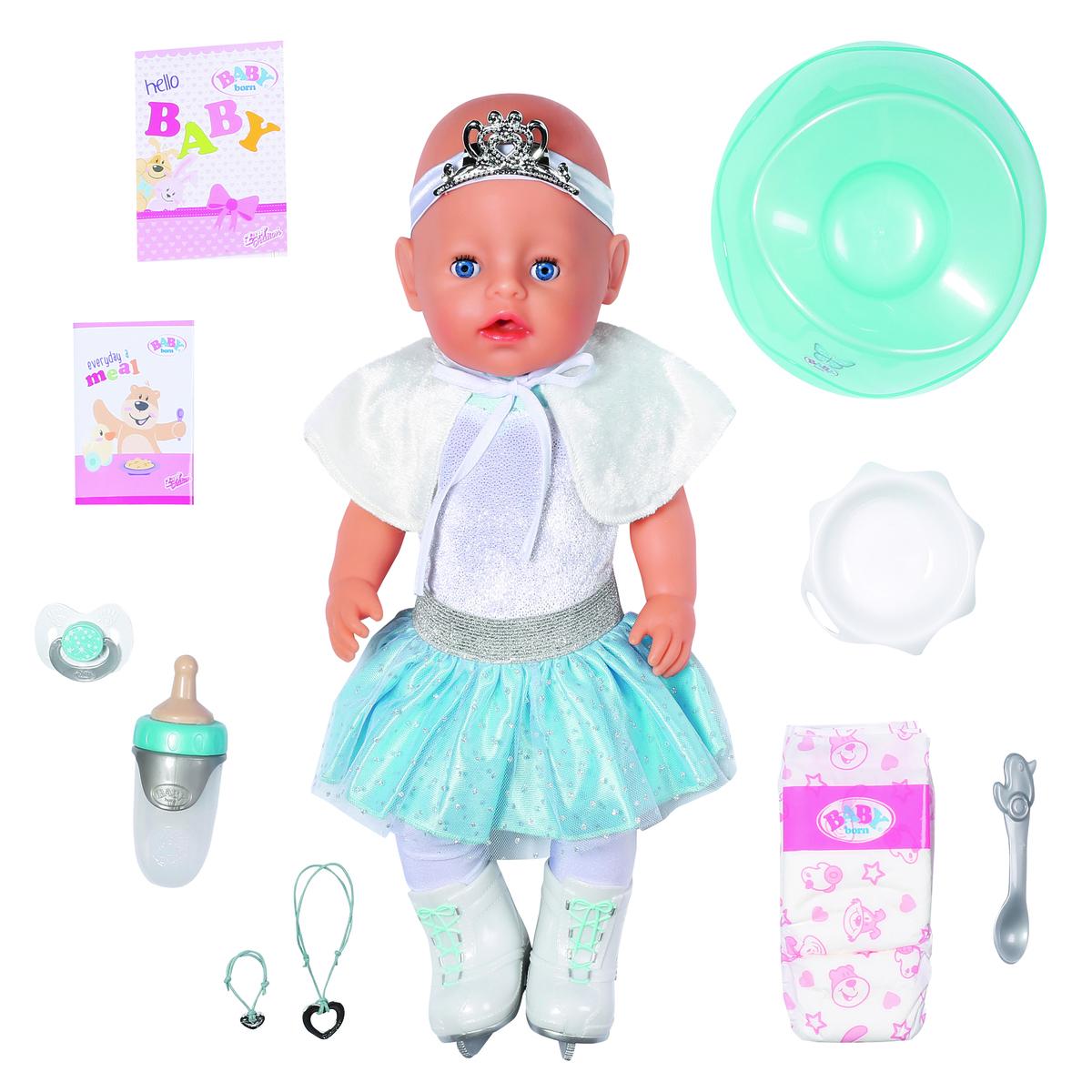 BABY Born 43cm Soft Touch Ice Ballerina Doll
