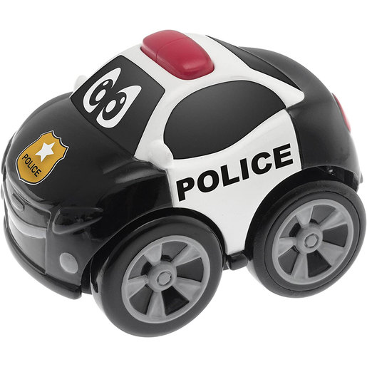 Chicco Turbo Team Pull-Back Car - Peter Police